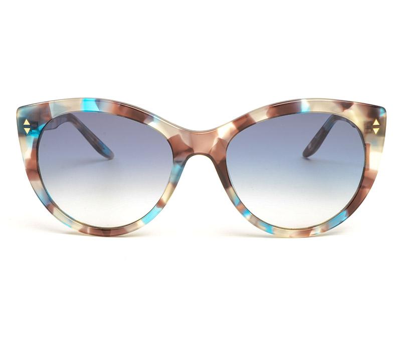 Alexis Amor Ava sunglasses in Blue Havana Tortoise