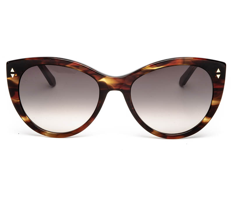 Alexis Amor Ava SALE sunglasses in Caramel Havana Stripe