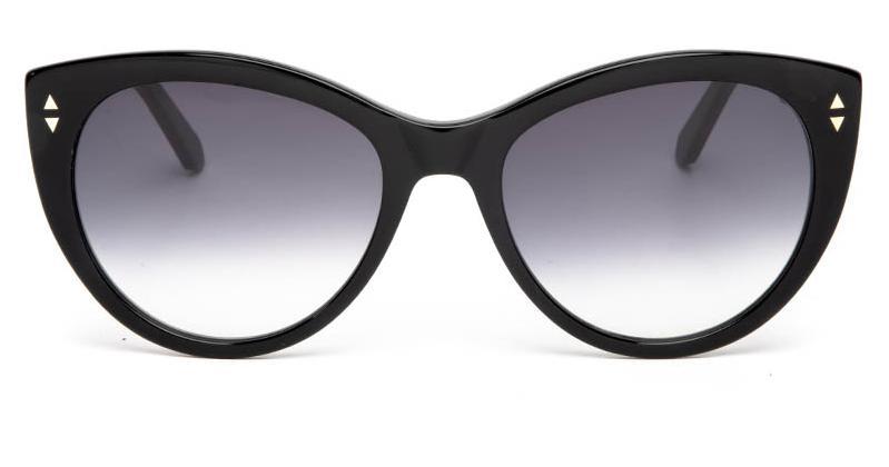 Alexis Amor Ava sunglasses in Gloss Piano Black