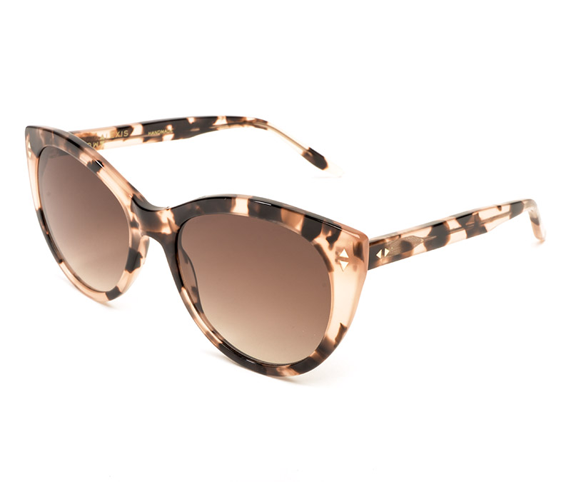Alexis Amor Ava sunglasses in Rose Havana Quartz