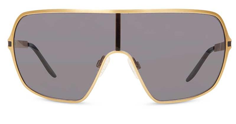 Alexis Amor The Axel sunglasses in Dark Matte Gold