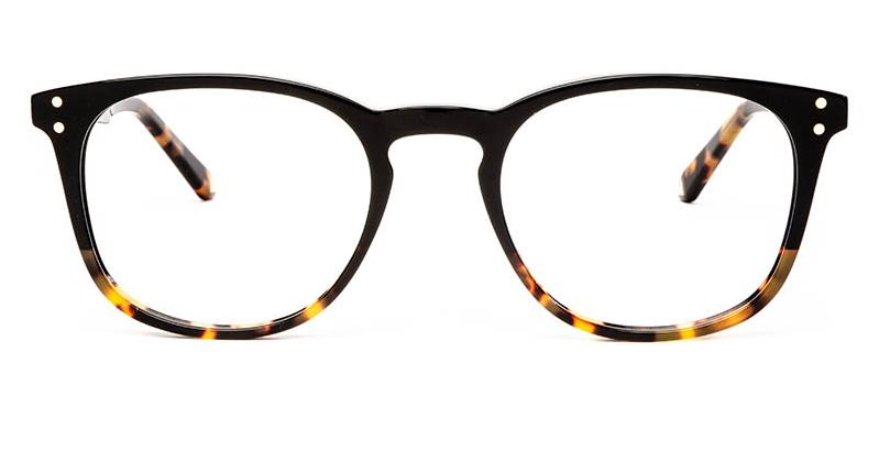 Alexis Amor Baxter frames in Gloss Black + Havana