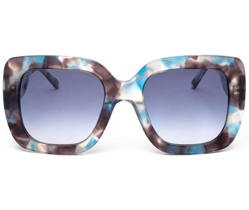 Alexis Amor Bibi sunglasses in Blue Havana Tortoise