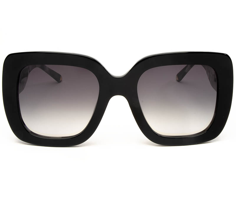 Alexis Amor Bibi sunglasses in Gloss Piano Black + Marble