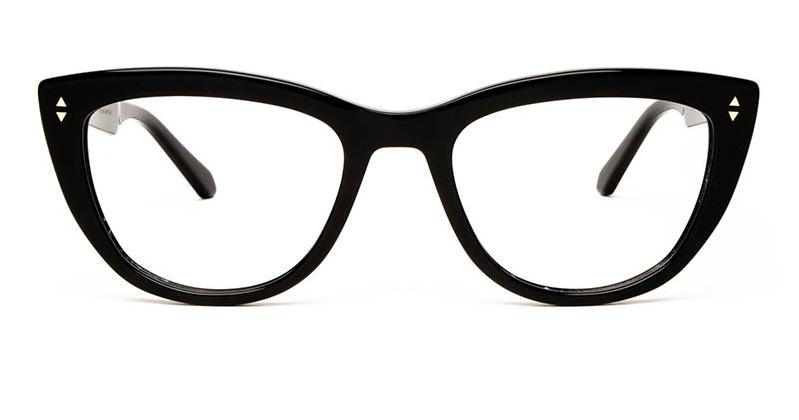Alexis Amor Birdie frames in Gloss Piano Black