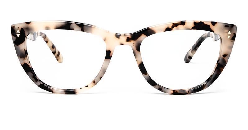 Alexis Amor Birdie frames in Opal Tortoise