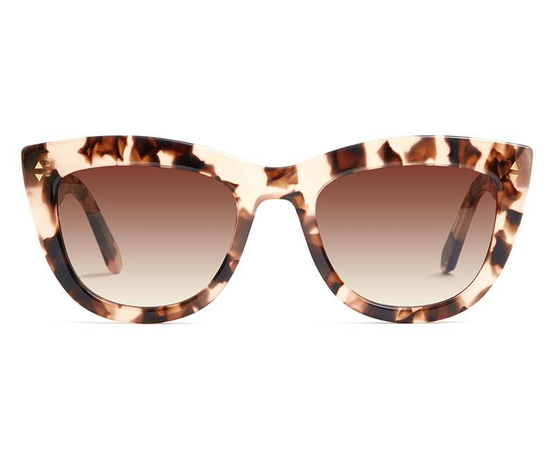 Alexis Amor Birdie X sunglasses in Rose Havana Quartz
