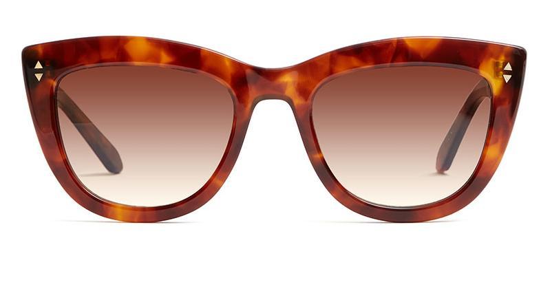 Alexis Amor Birdie X sunglasses in Super Luxe Havana