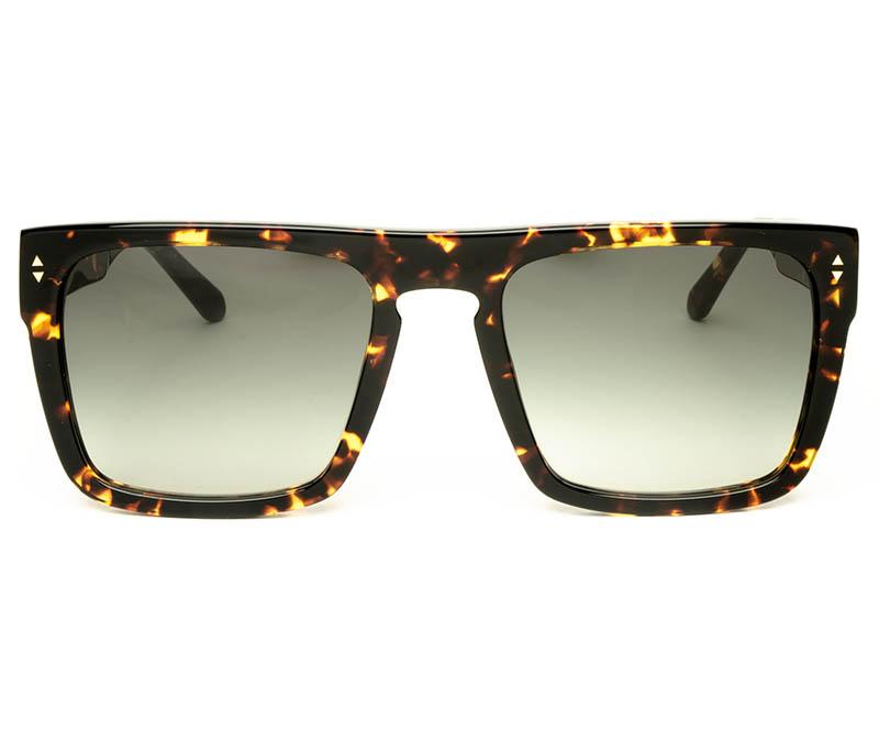 Alexis Amor Blake sunglasses in Amber Fleck Gold