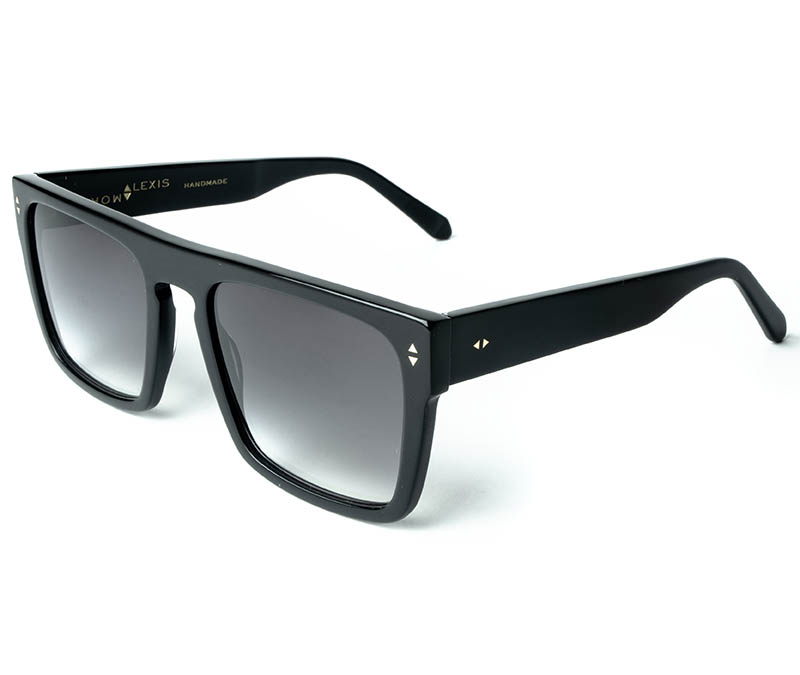 Alexis Amor Blake sunglasses in Gloss Piano Black