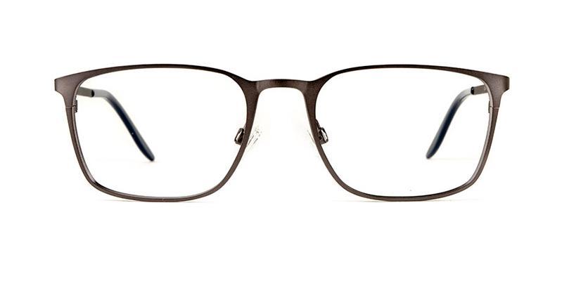 Alexis Amor Cash frames in Silky Matt Charcoal