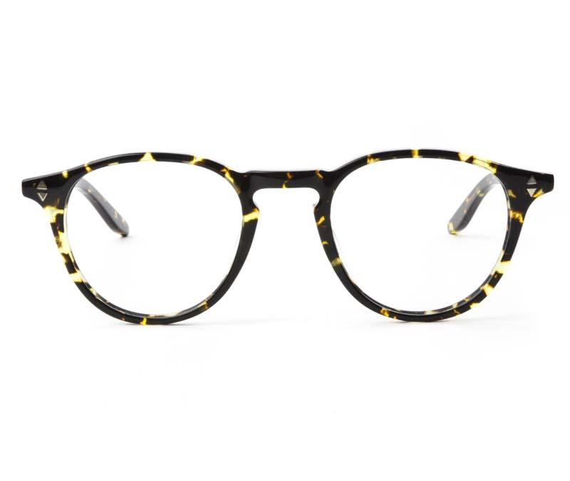 Alexis Amor Charlie SALE frames in Gloss Black Amber Fleck