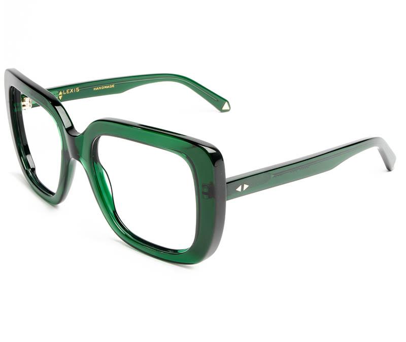 Alexis Amor Coco frames in Deepest Darkest Emerald