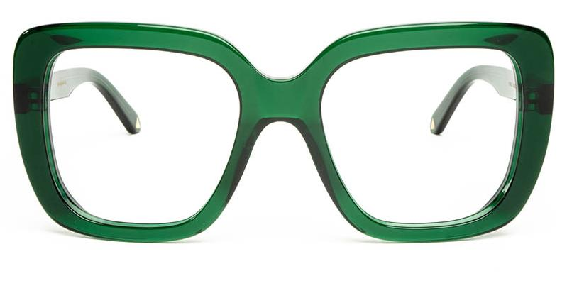 Alexis Amor Coco frames in Deepest Darkest Emerald