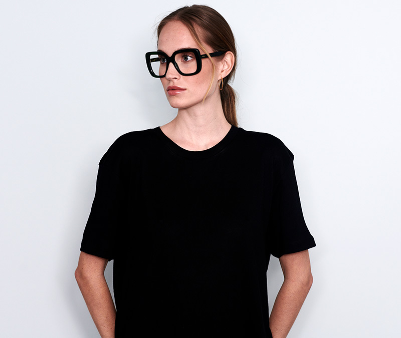 Alexis Amor Coco frames in Peacock Tortoise