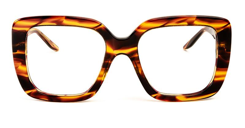 Alexis Amor Coco SALE frames in Smooth Caramel Stripe