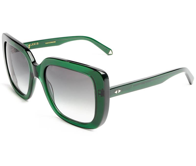 Alexis Amor Coco sunglasses in Deepest Darkest Emerald