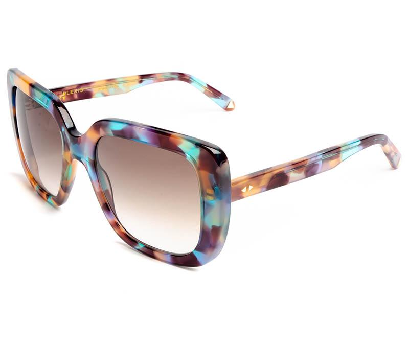 Alexis Amor Coco sunglasses in Peacock Tortoise