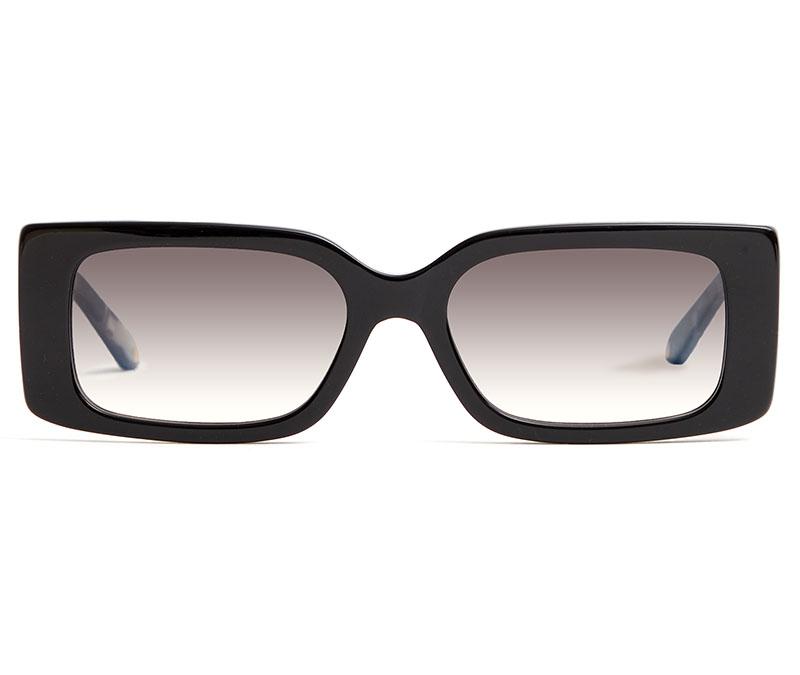 Alexis Amor Cora sunglasses in Gloss Piano Black + Marble