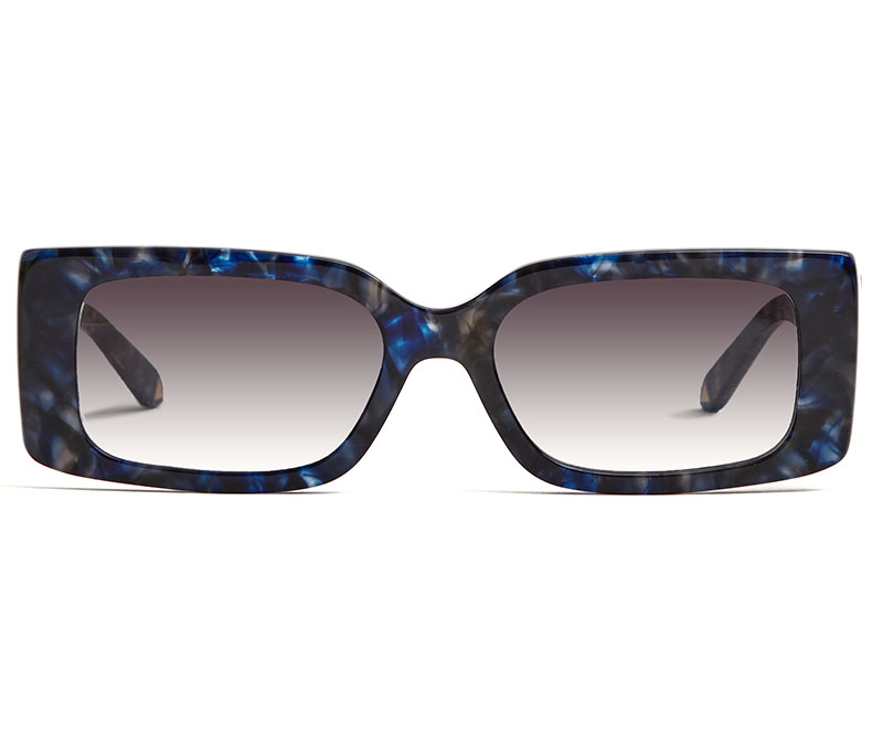 Alexis Amor Cora sunglasses in Limited Edition Deepest Cobalt Marble