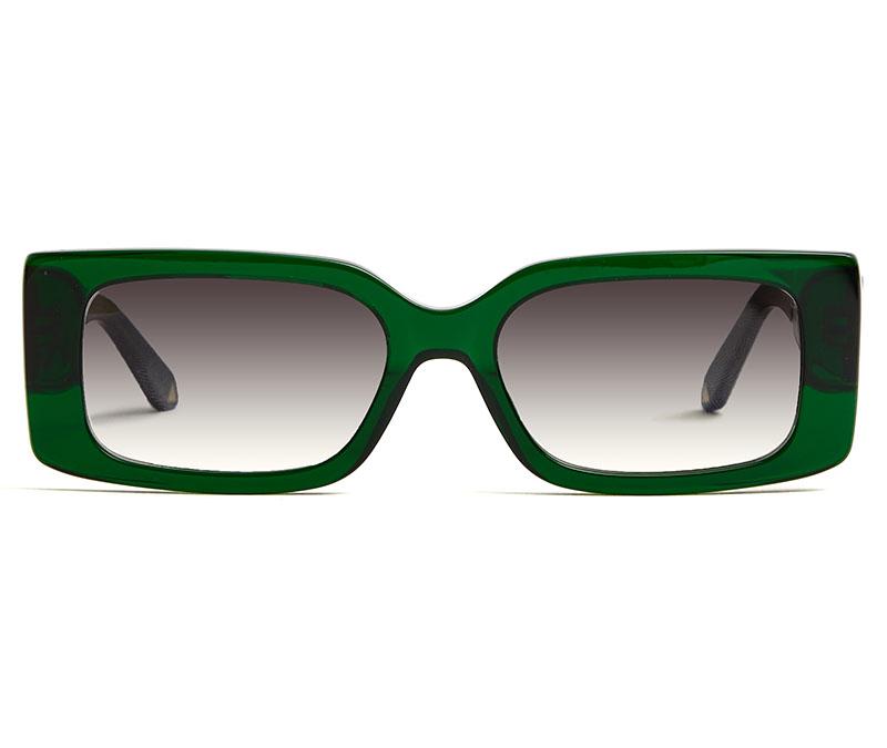 Alexis Amor Cora sunglasses in Limited Edition Deepest Darkest Emerald