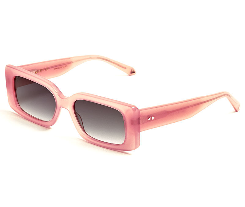 Alexis Amor Cora sunglasses in Limited Edition Gloss Hot Pink