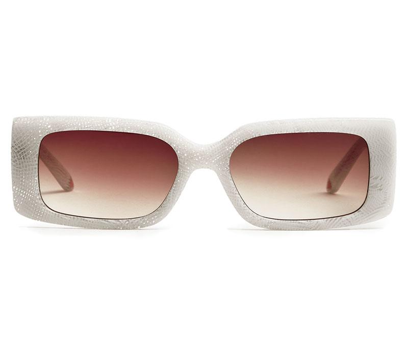 Alexis Amor Cora sunglasses in Limited Edition Gloss Quartz Check