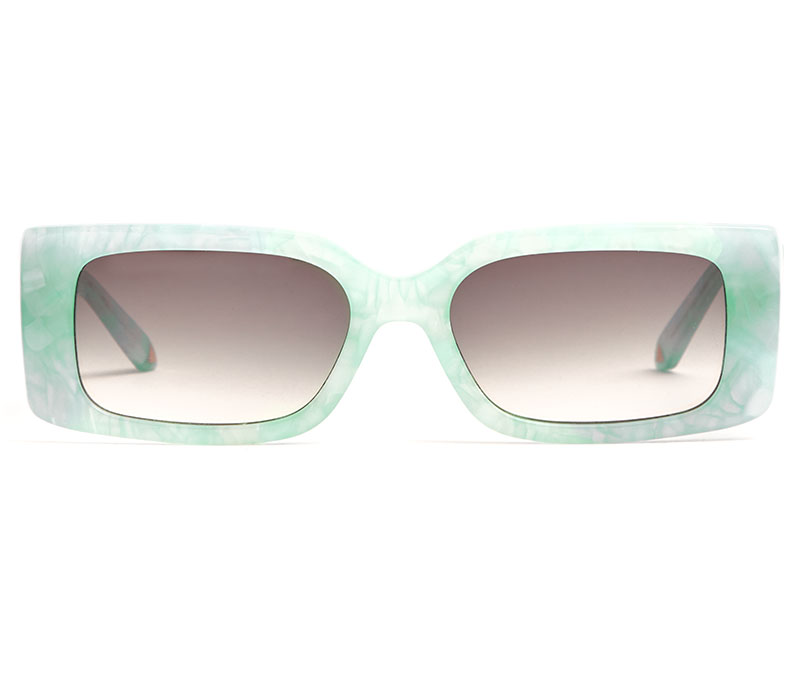 Alexis Amor Cora sunglasses in Limited Edition Turquoise Marble