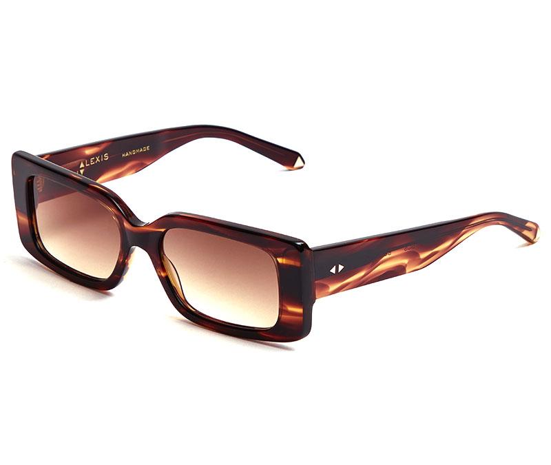 Alexis Amor Cora sunglasses in Smooth Caramel Stripe