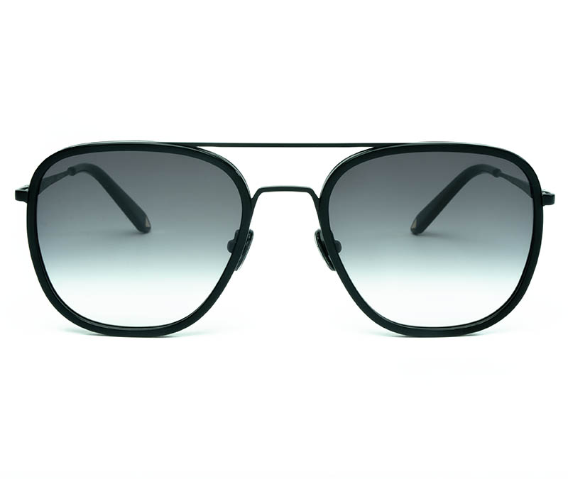 Alexis Amor Dallas sunglasses in Matte Black Matte Black