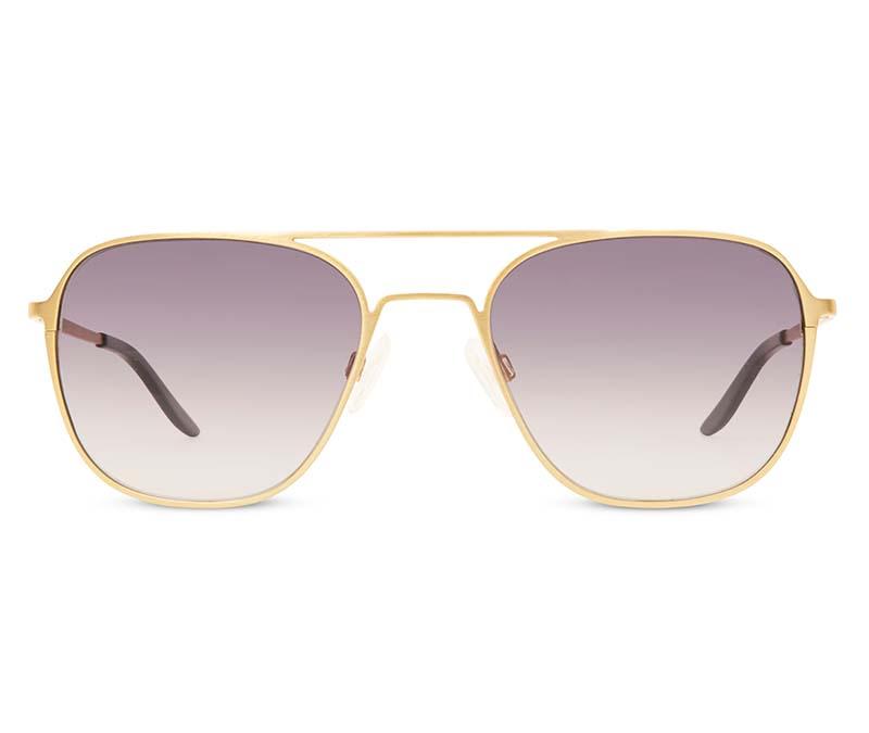Alexis Amor Dax sunglasses in Dark Matt Gold