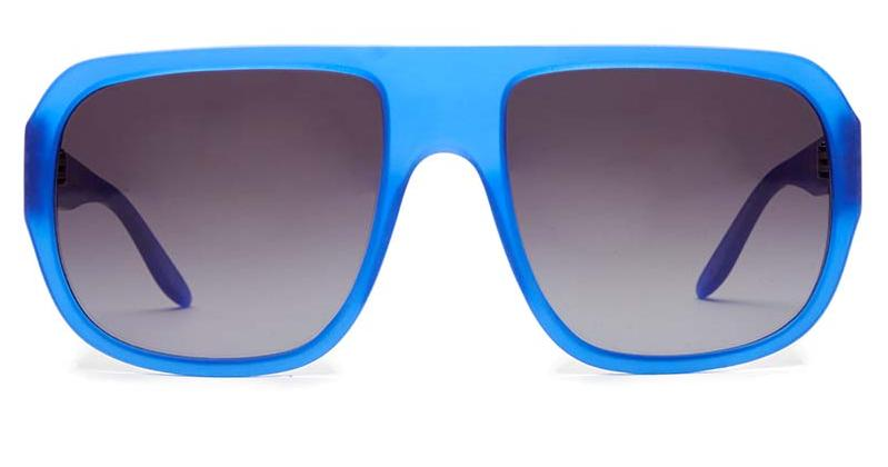Alexis Amor Dogg SALE frames in Matte Crystal Blue