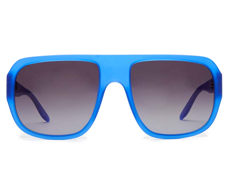 Alexis Amor Dogg SALE sunglasses in Matte Crystal Blue