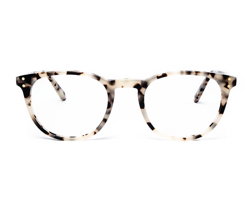 Alexis Amor Edie frames in Opal Tortoise