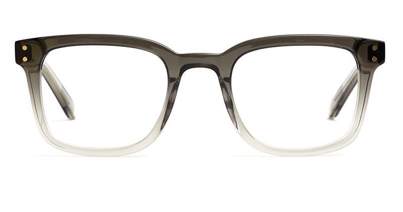 Alexis Amor Fitz frames in Night Mist Grey