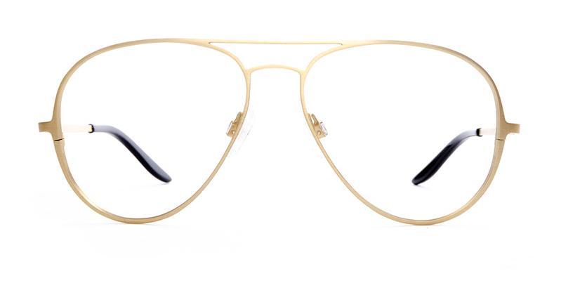 Alexis Amor Forde frames in Matte Gold