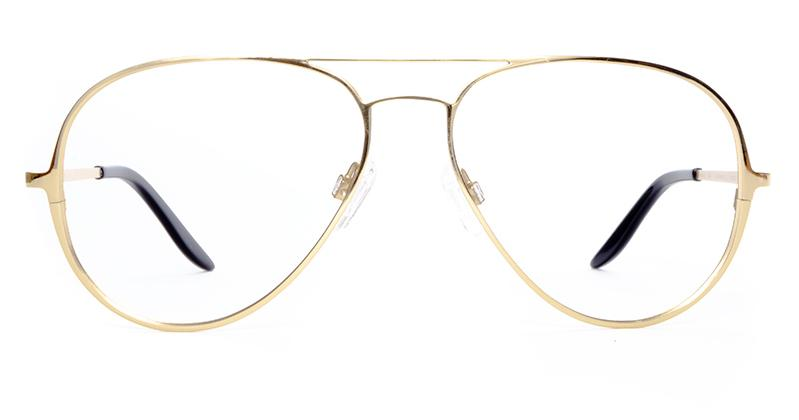 Alexis Amor Forde frames in Mirror Gold