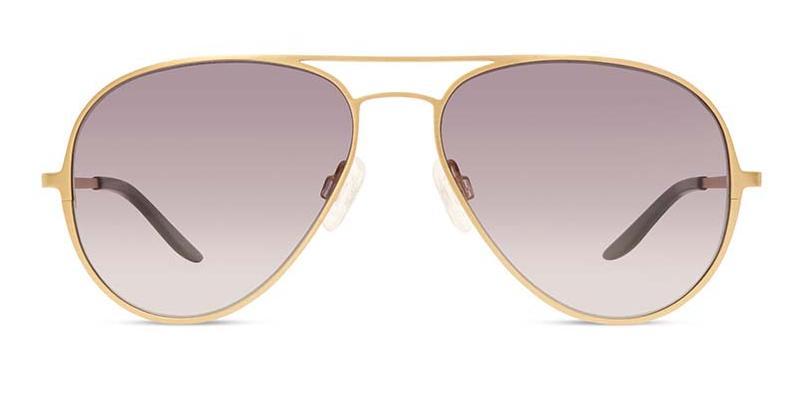 Alexis Amor Forde sunglasses in Dark Matt Gold