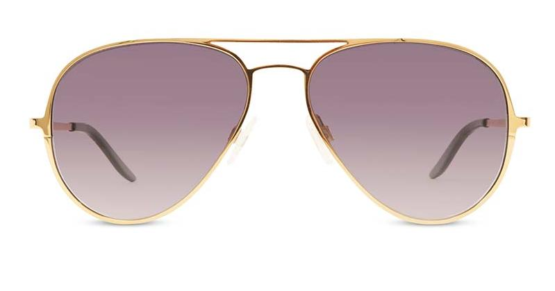 Alexis Amor Forde sunglasses in Dreamy Mirror Gold