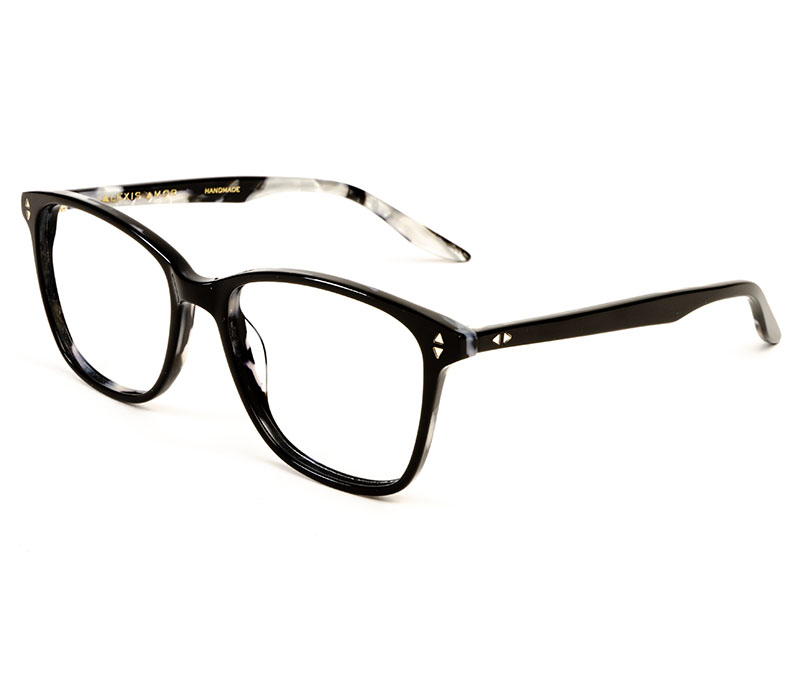 Alexis Amor Gigi frames in Gloss Piano Black Marble