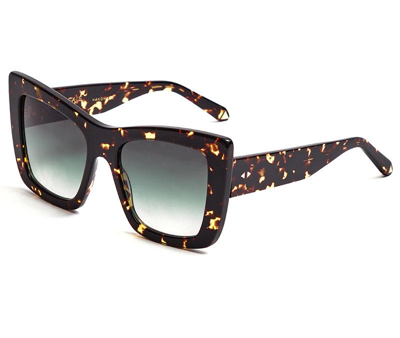 Alexis Amor Grace sunglasses in Amber Fleck