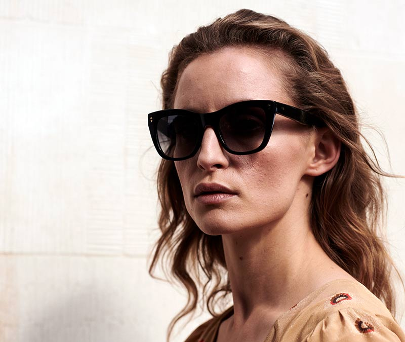 Alexis Amor Holly sunglasses in Amber Fleck