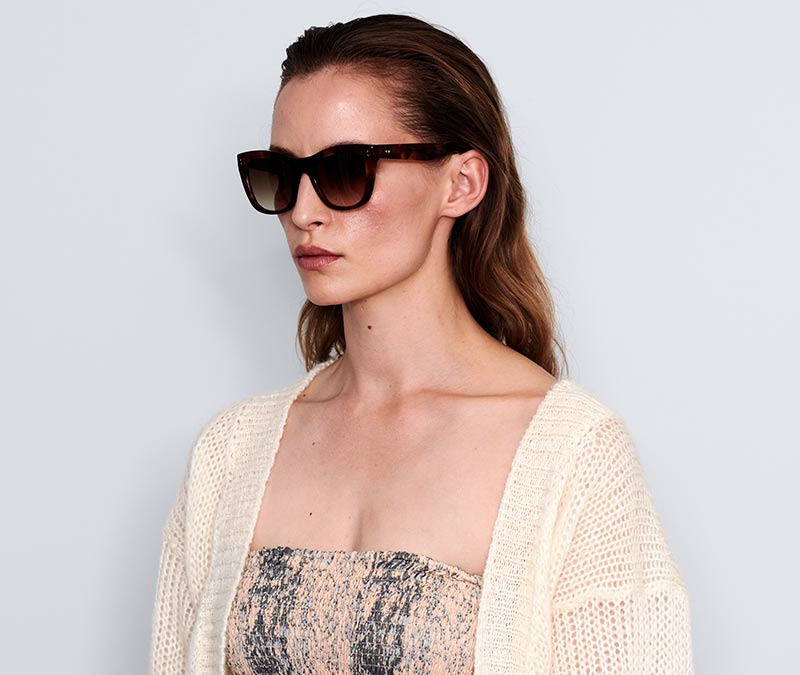 Alexis Amor Holly sunglasses in Super Luxe Havana