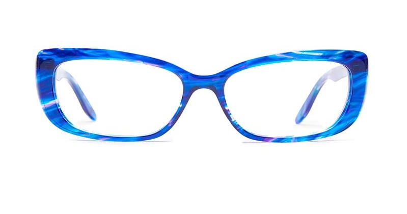 Alexis Amor Ivy SALE frames in Blueberry Stripe