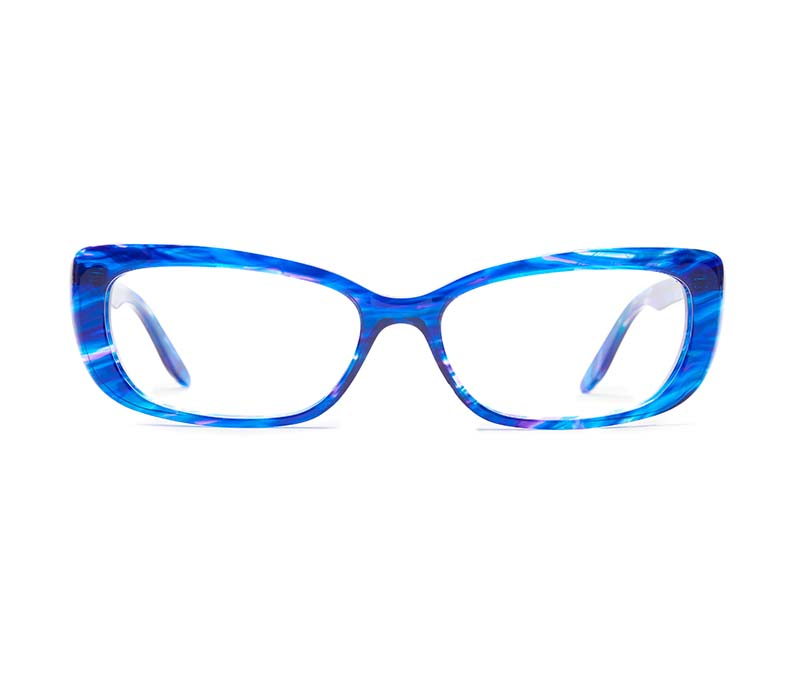 Alexis Amor Ivy SALE frames in Blueberry Stripe