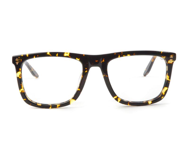 Alexis Amor Jamie SALE frames in Gloss Black Amber Fleck