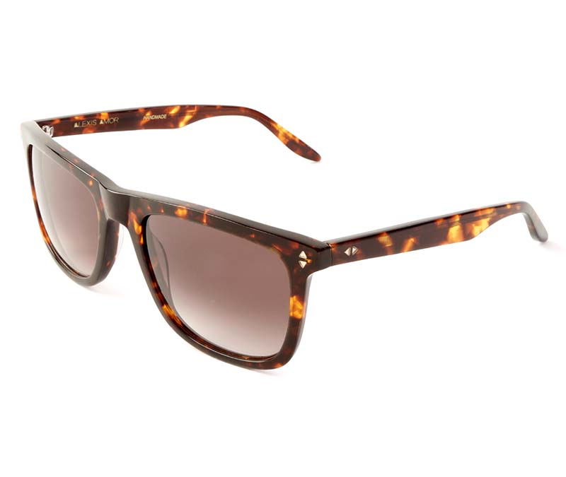 Alexis Amor Jamie sunglasses in Autumn Chestnut Havana