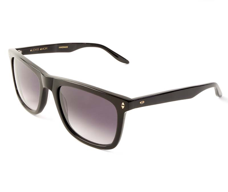 Alexis Amor Jamie SALE sunglasses in Gloss Piano Black