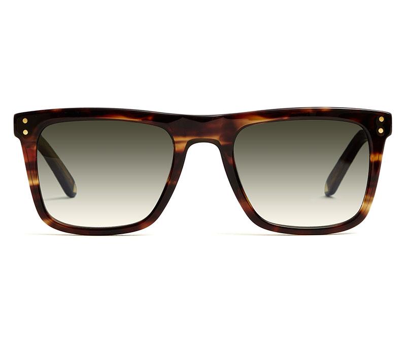 Alexis Amor Jesse sunglasses in Caramel Havana Stripe