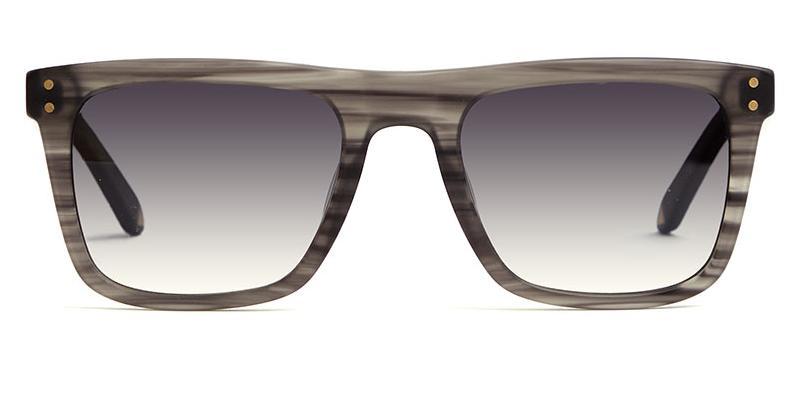 Alexis Amor Jesse sunglasses in Matte Grey Stripe